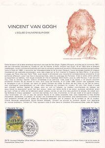 Document-philatelique-29-79-1er-jour-1979-Vincent-Van-Gogh-Peintre