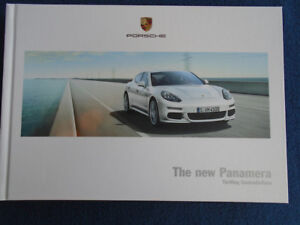 Porsche Panamera range brochure Apr 2013 hardbacked
