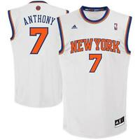 adidas NBA Mens New York Knicks Home Swingman Basketball Jersey Carmelo Anthony