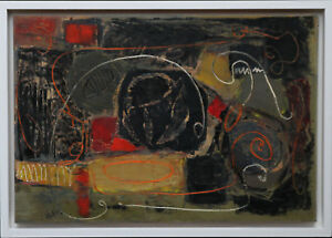 ROBERT-SADLER-BRITISH-ABSTRACT-EXPRESSIONIST-1950-039-S-OIL-PAINTING-ART-1909-2001