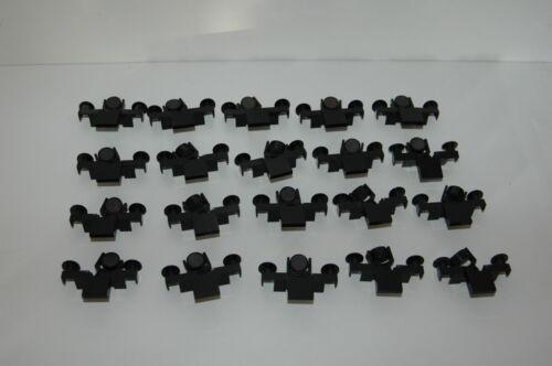 20 Lego 9V RC Eisenbahn TRAIN Magnet Puffer in SCHWARZ BUFFER