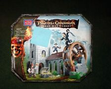 Mega Bloks Pirates Of The Caribbean Water Wheel Duel #1027 NIB