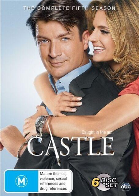 Castle The Complete Fifth Season Five DVD NEW Region 4