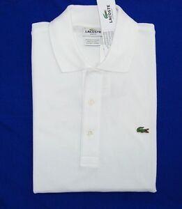 Nwt lacoste mens polo shirt golf casual work sports gator logo slim image is loading nwt lacoste men 039 s polo shirt golf sciox Images