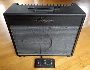 Johnson JT50 Mirage USA Combo Guitar Amp Amplifier 50 Watts w/J3 Footswitch