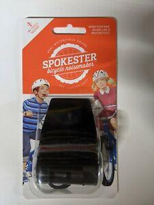 SPOKESTER Bicycle Noise Maker Black