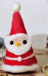 Needle-Felting-Kit-Christmas-Santa-JAPANESE-Wool-Fibre-Needle-eyes-included