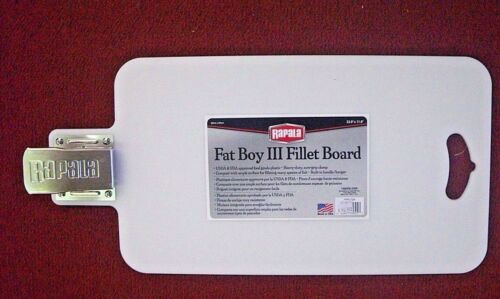Rapala fat boy III fillet board with clamp for fresh or saltwater fish or bait