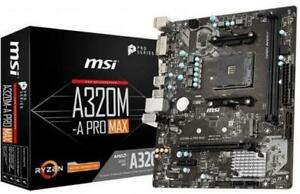 MSI-A320M-A-PRO-MAX-MOTHERBOARD-AMD-Socket-AM4-AMD-A320-Chipset