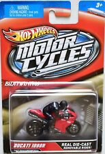 HOT WHEELS 2012 MOTOR CYCLES DUCATI 1098R W+