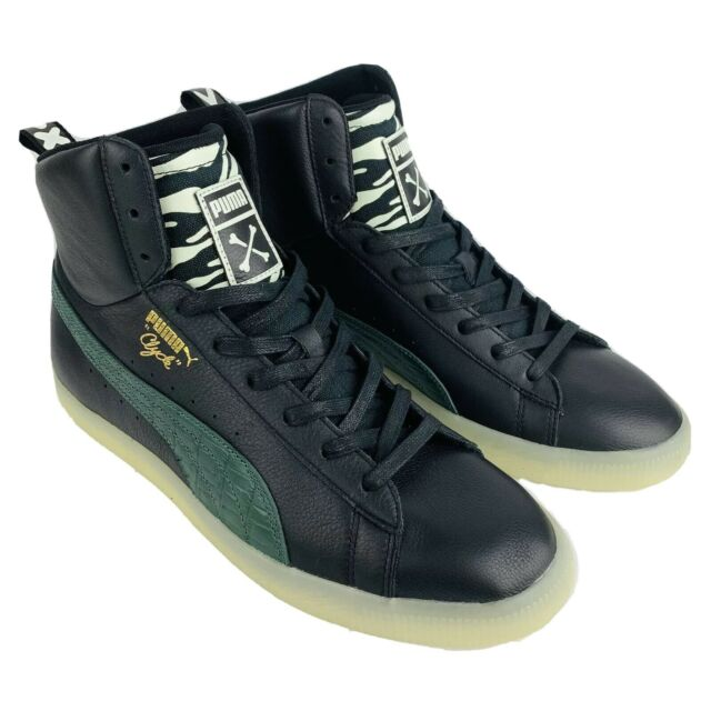 Men's PUMA Mid Clyde Leather Shoes