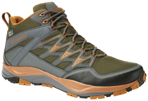 Men/'s Columbia Wayfinder Mid Outdry Boot Nori//Bright Copper