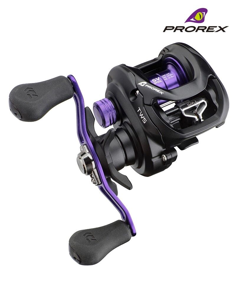 Daiwa Prorex TW 100SV NEW Lure Fishing  Baitcaster Multiplier Reel