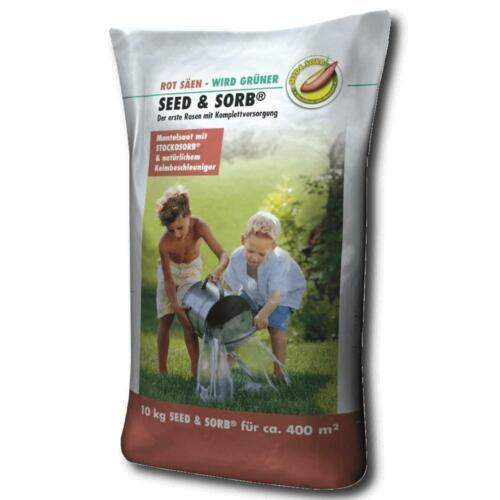 GSS Universale Prato RSM 2.3 Seed /& Sorb 10 KG semi per prato erba semi riserva d/'acqua