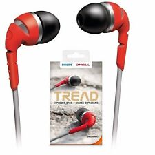 Philips SHO2300RD O'Neill THE TREAD in ear headphones SHO2300 Red /GENUINE