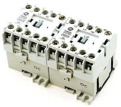 General Electric CR6VBA3B Reversing Contactor 110-120V 60Hz