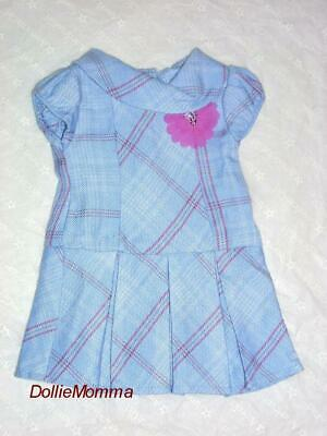 AMERICAN GIRL Doll/'s Sweet Plaid School Dress~Blaire~Isabelle~Grace~Tenney~Lea