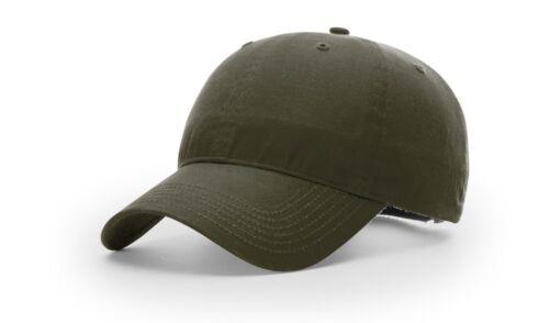 RICHARDSON 435 WATER REPELLENT WAXED COTTON BASEBALL CAP HAT