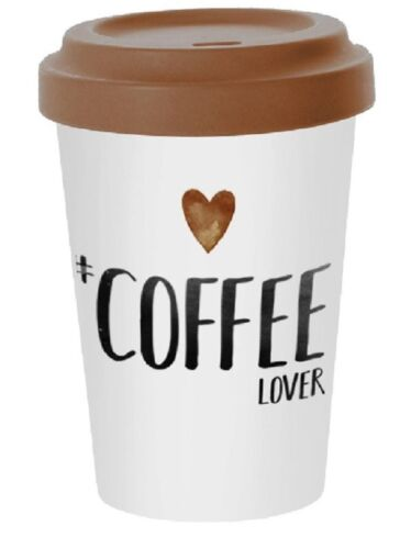 Coffee to go vaso 400 ml de bambú Coffee Lover 603342 de PPD