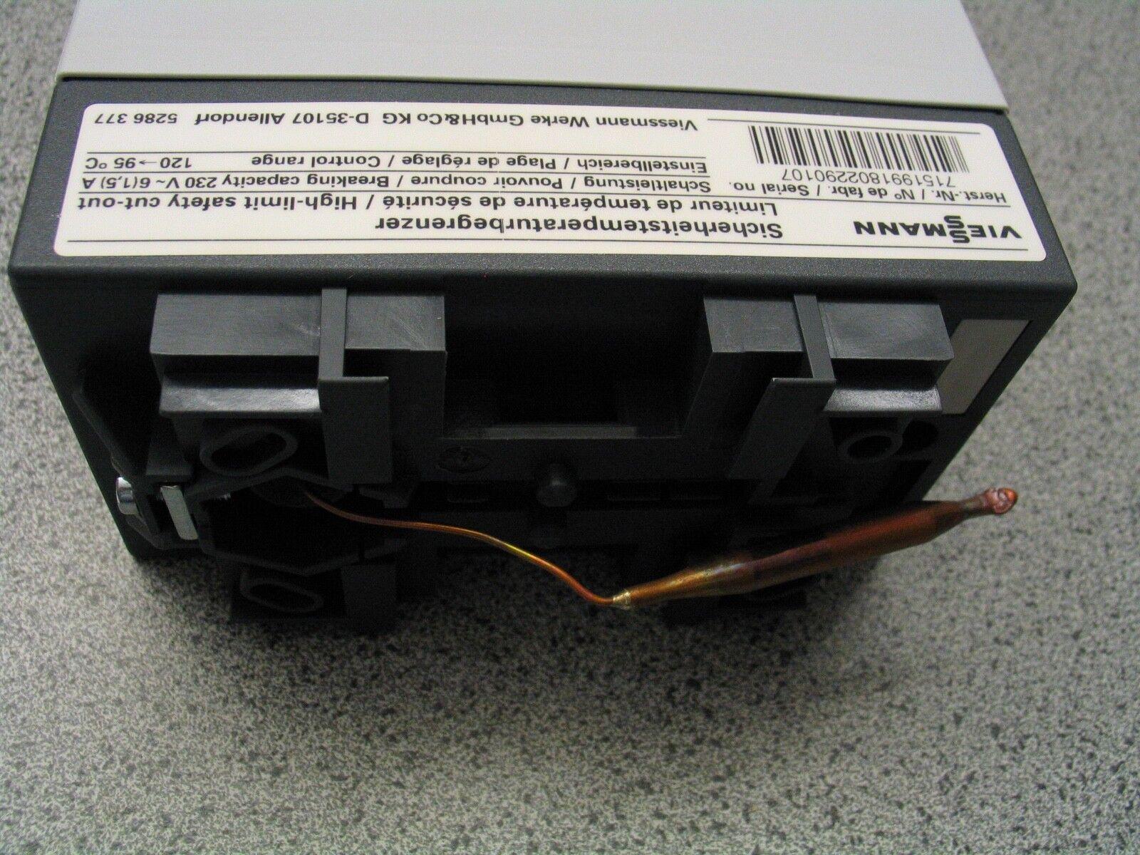 Viessmann Ersatzteil Sicherheits-Temperaturbegrenzer STB 7151991 OVP NEU (A)
