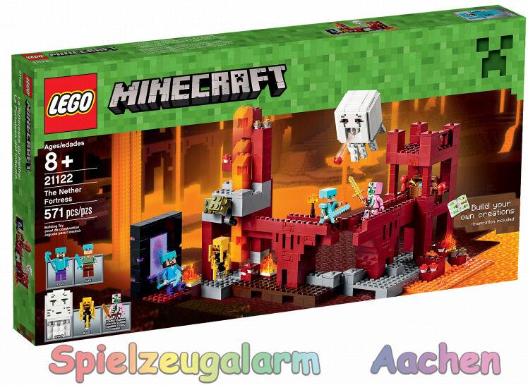 Lego 21122 la Minecraft netherfestung the Nether Fortress la forteresse du neth