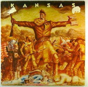 "12"" LP - Kansas - Kansas - F888 - cleaned"