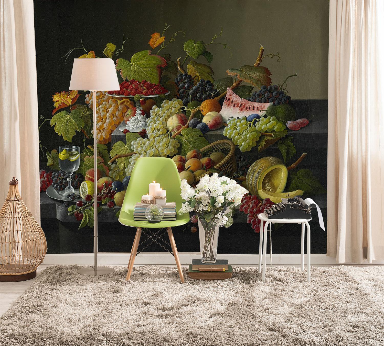 3D Köstliche Frucht 2098 Fototapeten Wandbild Fototapete BildTapete Familie DE