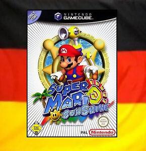 ## Super Mario Sunshine (Deutsch) Nintendo GameCube Spiel // GC & Wii - TOP ##