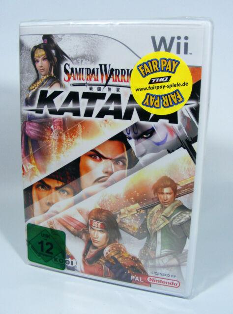 SAMURAI WARRIORS KATANA für Nintendo Wii Spiel NEU und in Folie