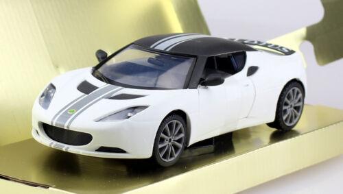 Lotus Evora S Matt blanco 1:24 motor max maqueta de coche 79505
