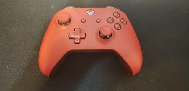 Microsoft Xbox One Original OEM USB Controller 3.5mm Jack 1708 S X Red