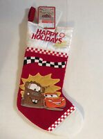 Musical Christmas Stocking Disney Pixar Cars Lighting Mcqueen And Mater