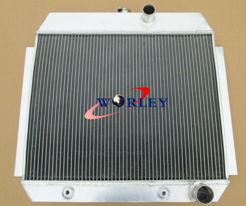 3 ROW Aluminum Radiator /& FAN For CHEVY L6 Bel Air cars W//COOLER 1951-1953 52