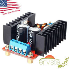 150W 10-32V In to 12-35V Out 6A Step Up Boost Converter Voltage Charger US