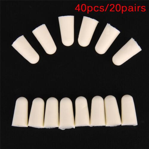 40Pcs//20Pairs Soft Foam Earplug Protector Travel Sleep Noise Reducer Ear Plug GN