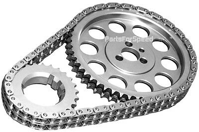 SA GEAR 78110TR Big Block Chevy BBC Timing Chain Chevy .250 Double Roller with Thrust Bearing andRolon Chain