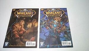 World-of-Warcraft-Ashbringer-039-s-3A-amp-4A-Wildstorm-2009-WOW-comic-VF