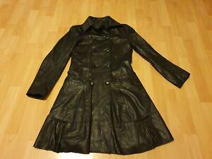 APART Damen Kleid - Leder - Gr. 34 in Schwarz | eBay