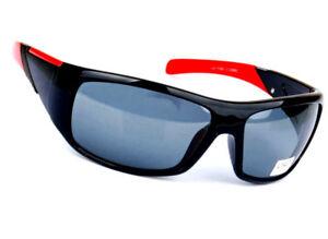 Herren Sonnenbrille Brillen Polarisiert schwarz  biker RADBRILLE Racing Choppers