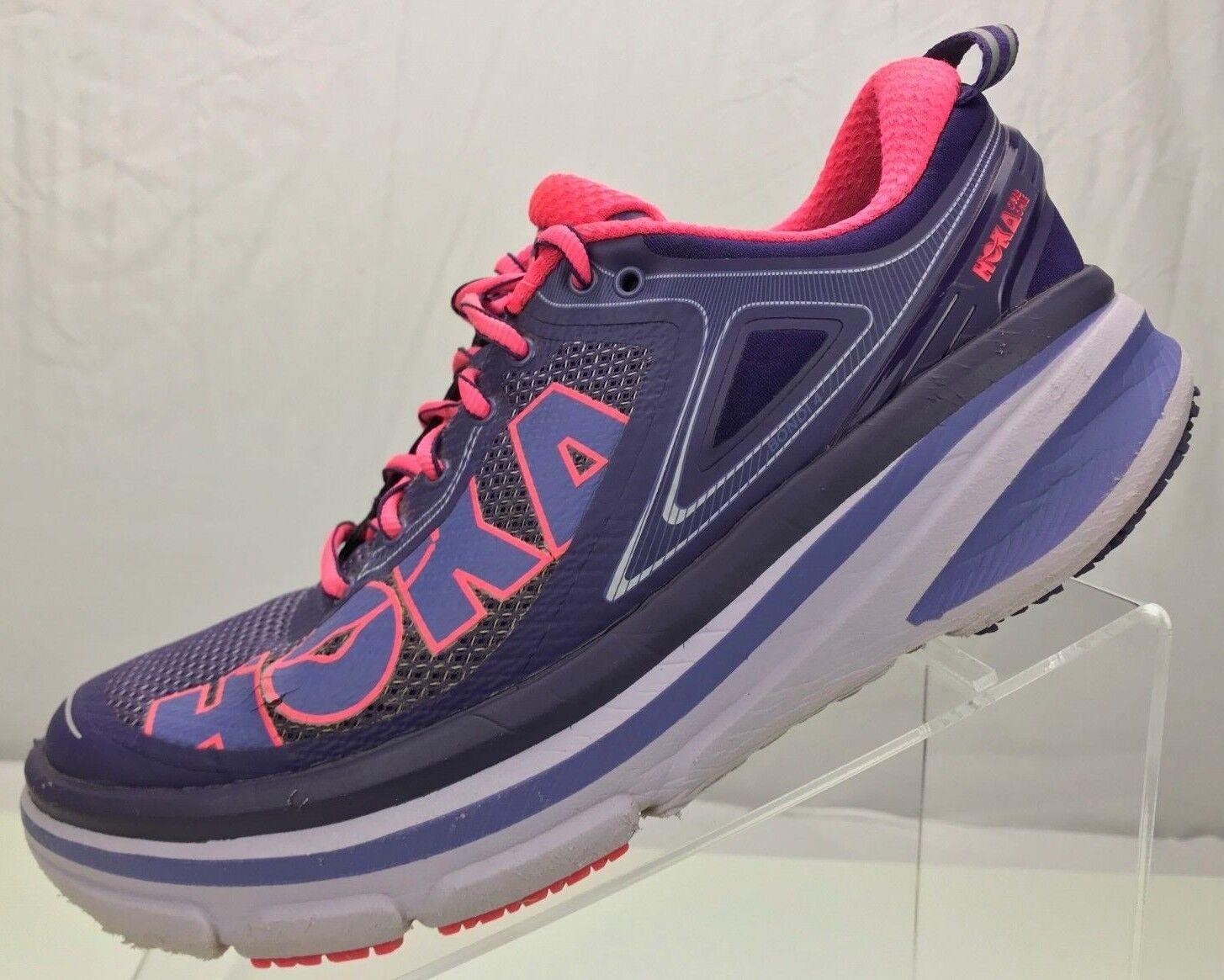 Hoka One One Bondi 4 - Running viola rosa rosa rosa Training Athletic scarpe donna  8 W f640ee