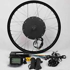"48V1500W Hi Speed Electric Bicycle E Bike Hub Motor Conversion Kit-26"" Rear+LCD"