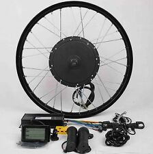 "48V1500W Hi Speed Electric Bicycle MTB Bike Hub Motor Conversion Kit-26""Rear+LCD"