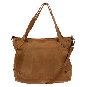 fd9fc8442d1a5 XL echt Leder Schultertasche Tasche Umhängetasche Shopper Bag Damen ...