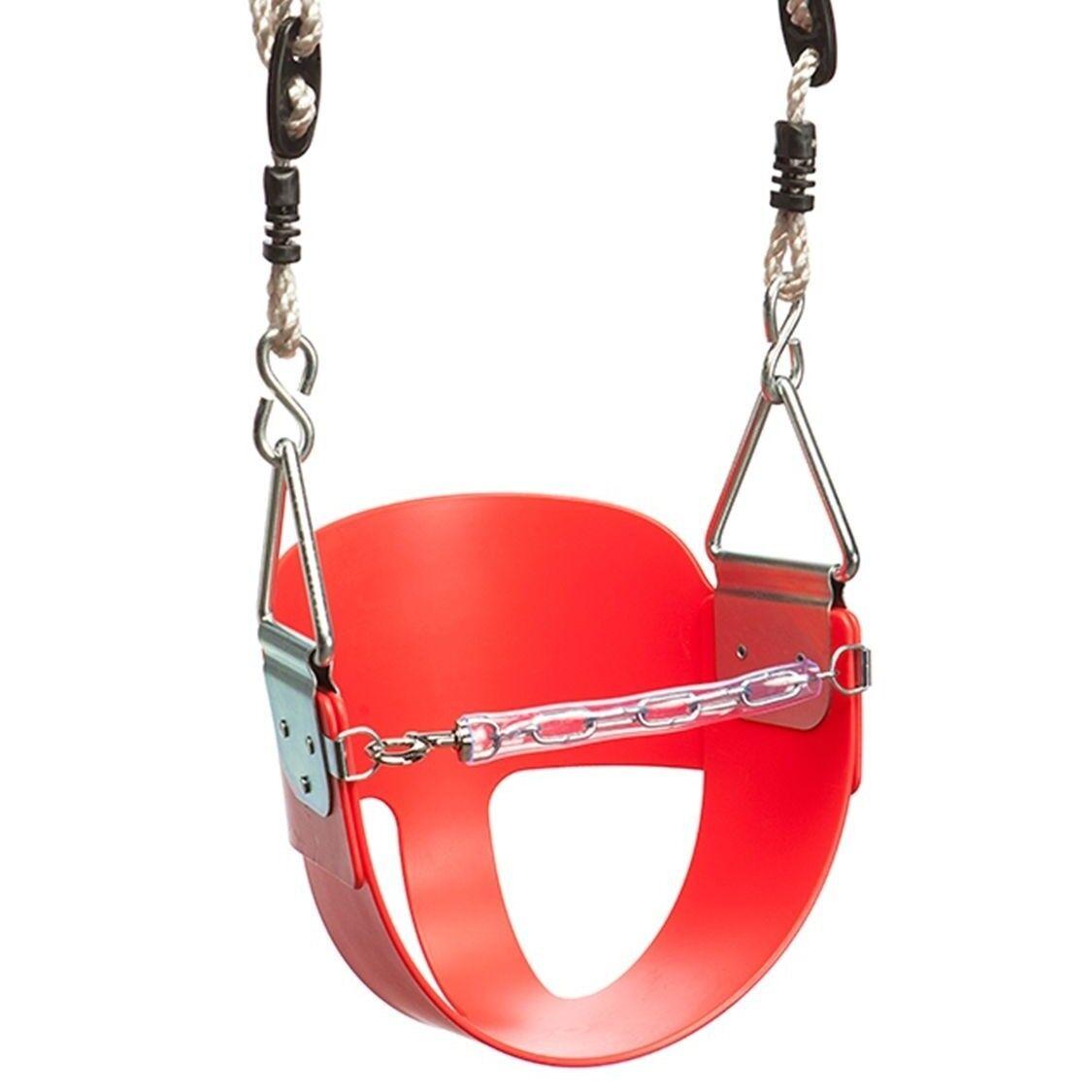 Svinge Slide Clive TODDLER Svinge SEAT röd with Safety Chain - Australian Brand