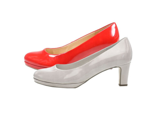 Gabor 21-260 Chaussures Femmes Verni Plateforme Escarpins Largeur F
