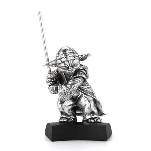 Royal Selangor - stjärnornas krig - Yoda Pewter Staty