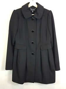 FOREVER NEW | Womens Black Coat / Jacket  [ Size AU 10 or US 6 ]