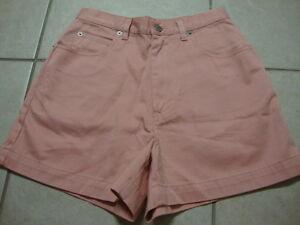 Womens-BANANA-REPUBLIC-pink-shorts-4