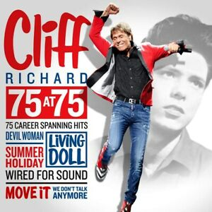Cliff-Richard-75-at-75-Career-Spanning-Hits-CD-ALBUM-3xCD-NEW-amp-SEALED
