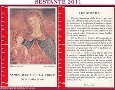 245 SANTINO HOLY CARD SANTA MARIA DELLA CROCE NOCI PICCOLA PIEGA